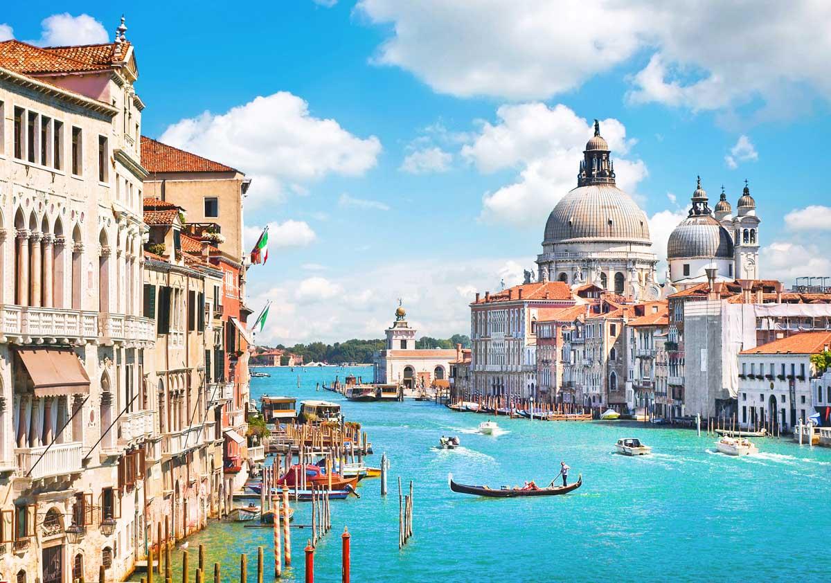Волшебный Гранд канал, Венеция