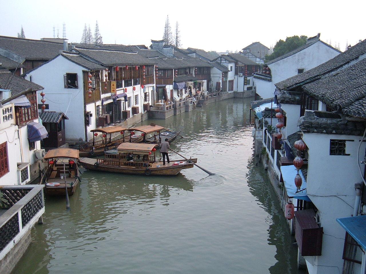 Город на воде Чжуцзяцзяо, Шанхай
