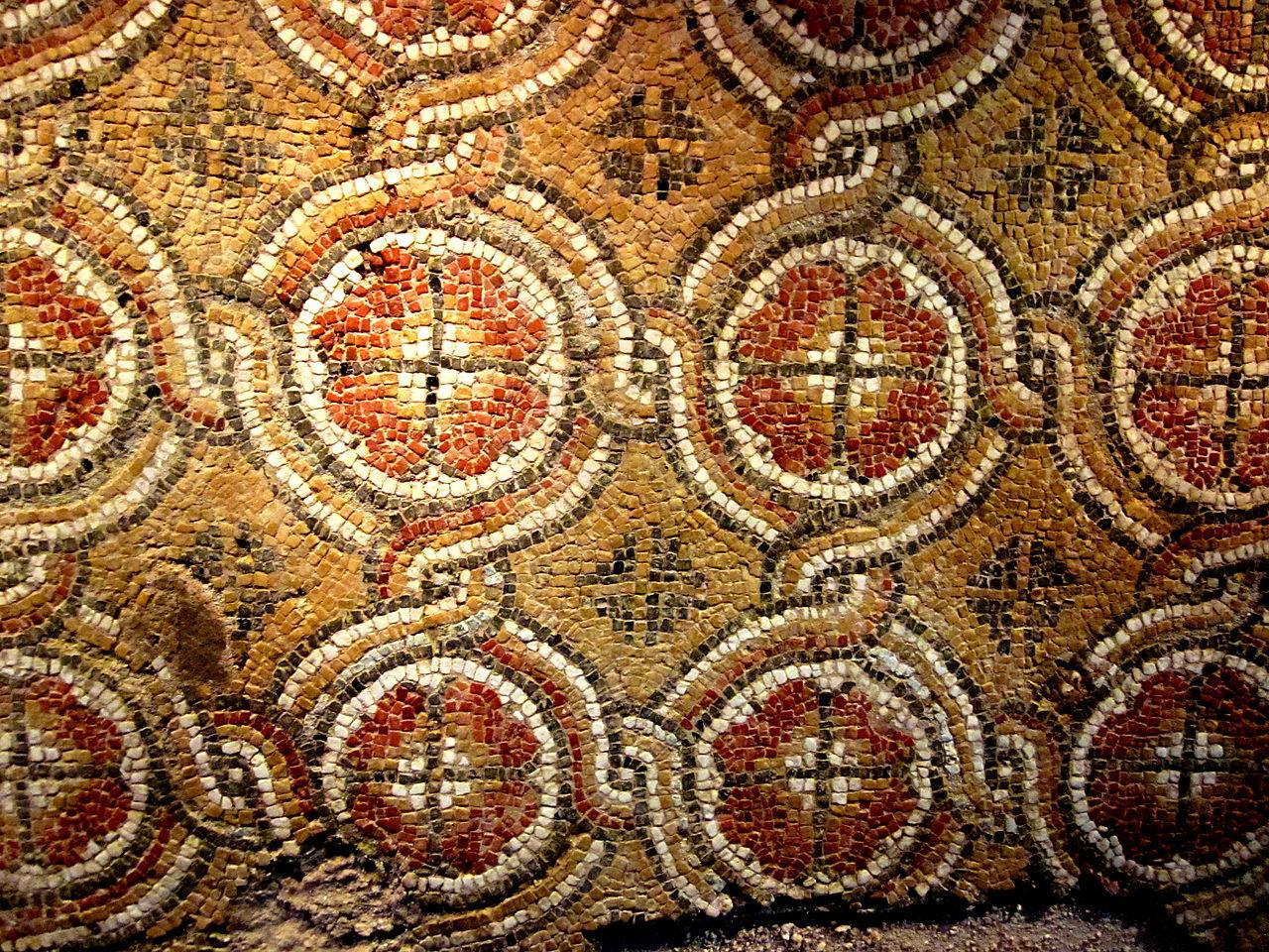 Монастырь Аладжа, мозаика