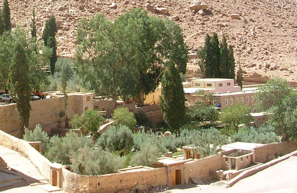Монастырь Святой Екатерины, сад