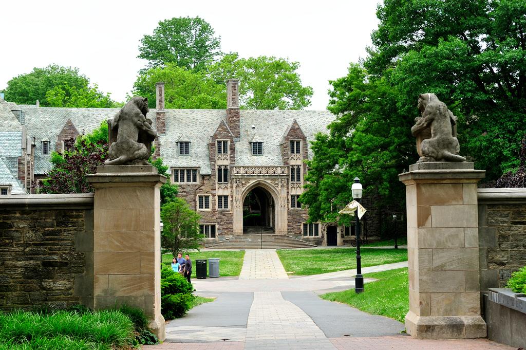 Один из корпусов Принстонского университета