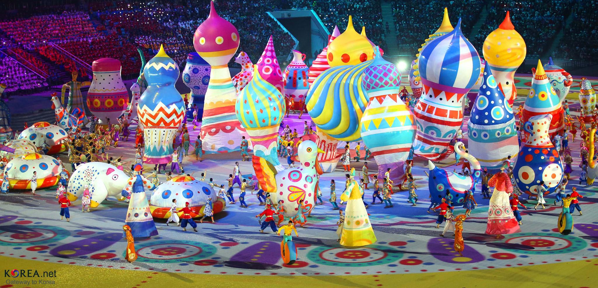 Открытие олимпийcких игр в Сочи