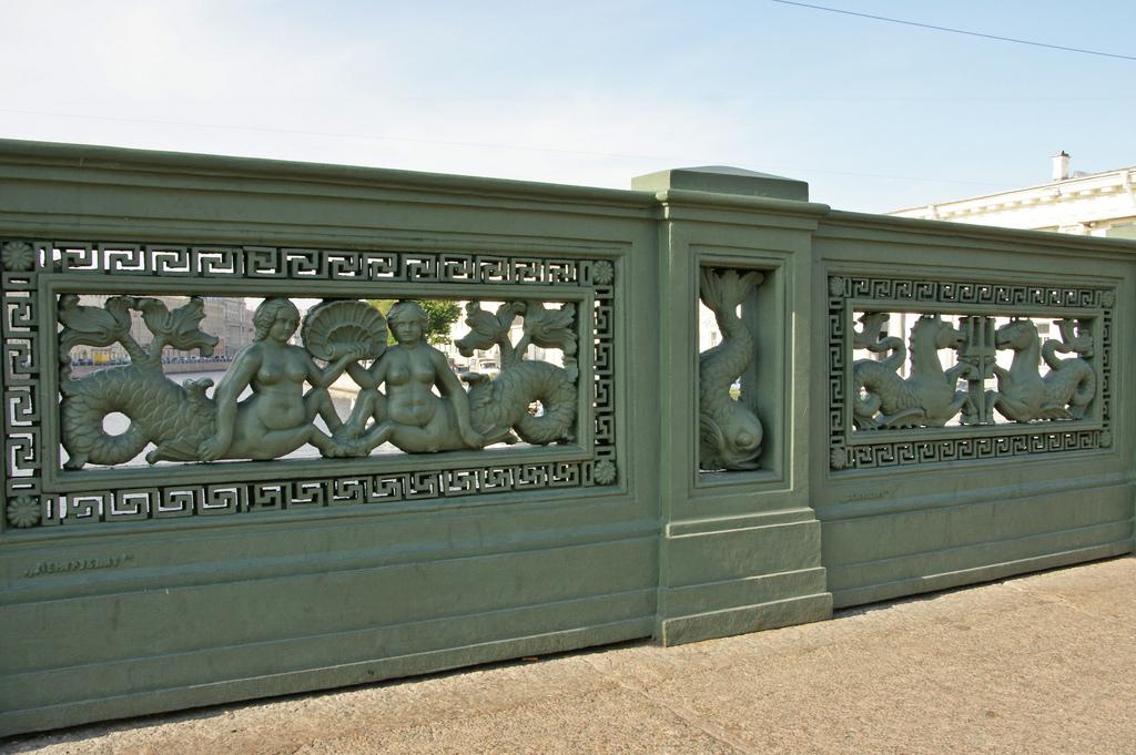 Оформление Аничкова моста, Санкт-Петербург