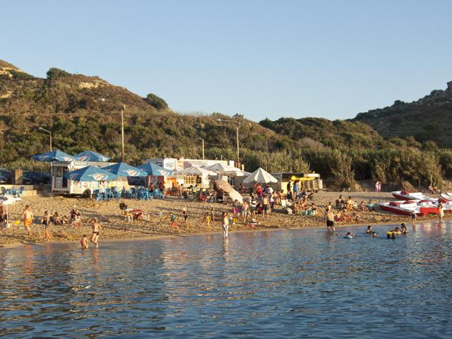 Пляж Джнейна Бэй (песок), Мальта.jpg