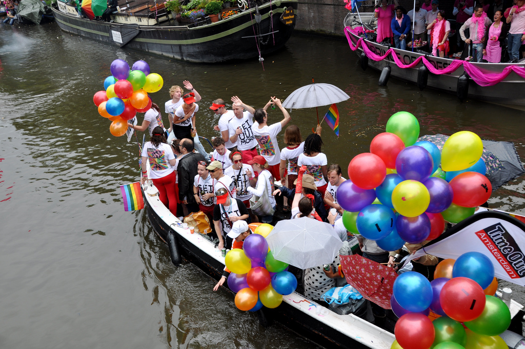 Розовая суббота в Амстердаме