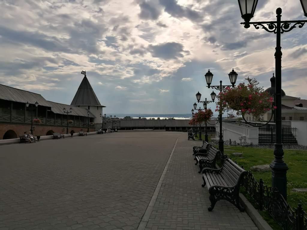 Внутренний двор Казанского Кремля, Россия