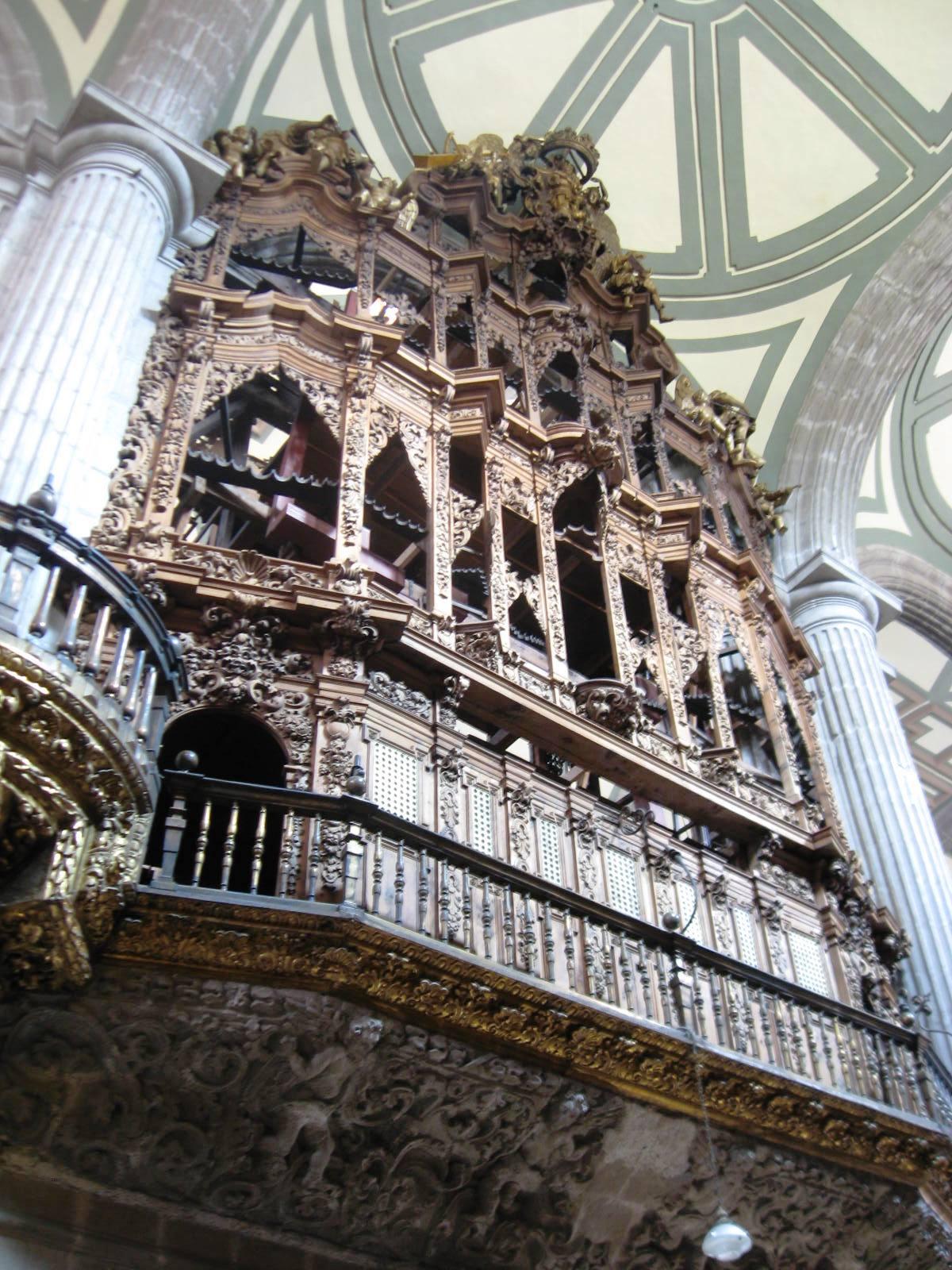 Кафедральный собор в Мехико, орган
