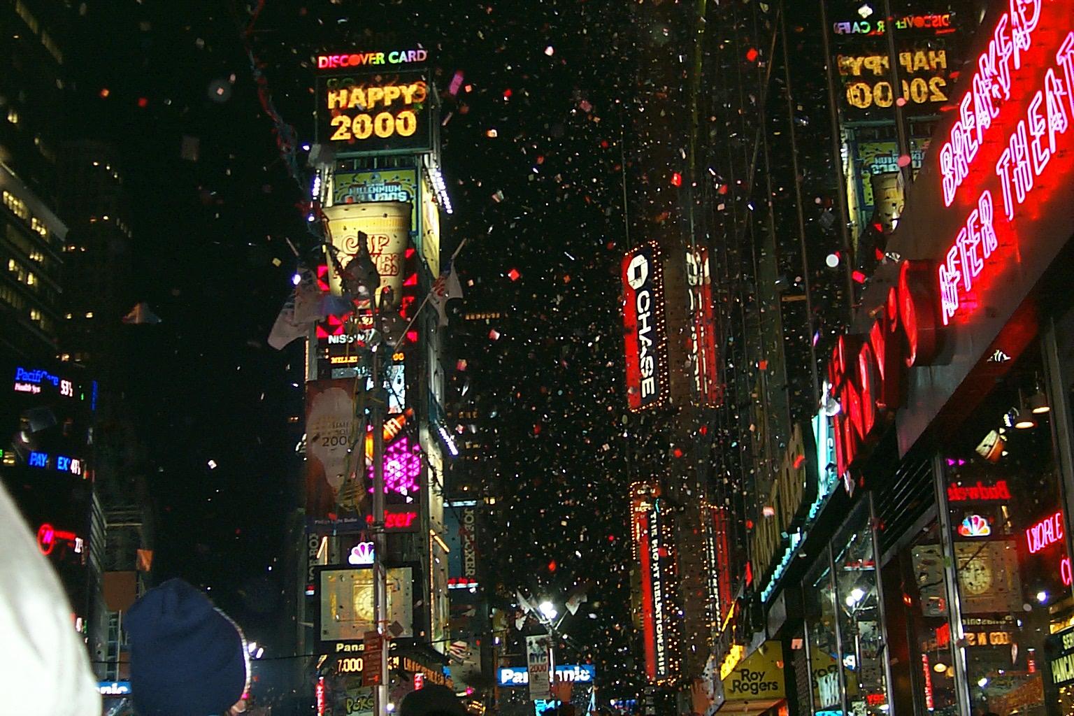 Новогодняя ночь в Нью-Йорке