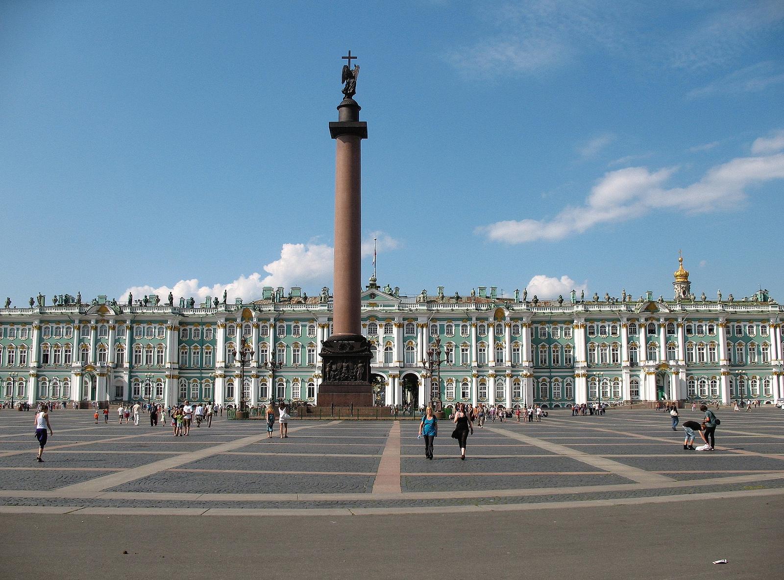 Площадь перед Александровской колонной, Санкт-Петербург