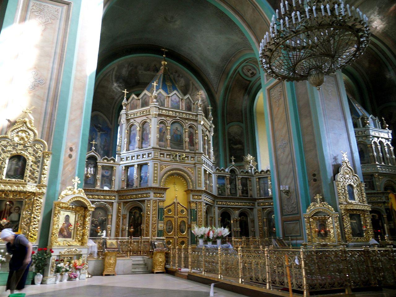 Собор Рождества Пресвятой Богородицы в Ростове-на-Дону, интерьер
