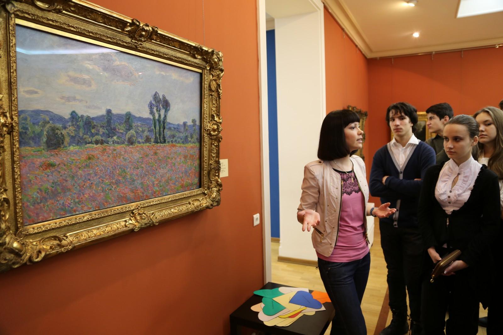 Центр «Эрмитаж-Казань», экскурсия по выставке «Импрессионисты и их эпоха»