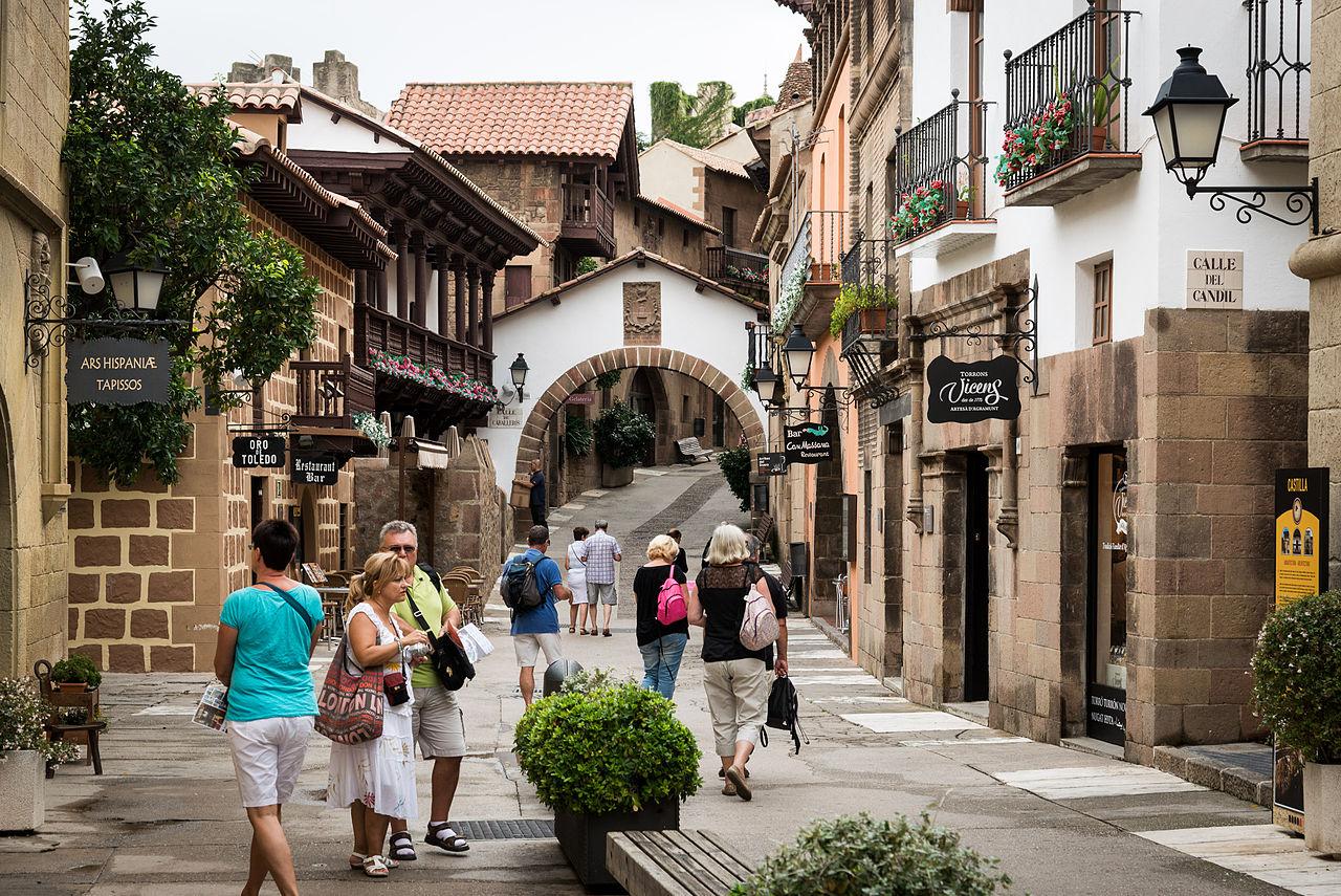 Испанская деревня, улица
