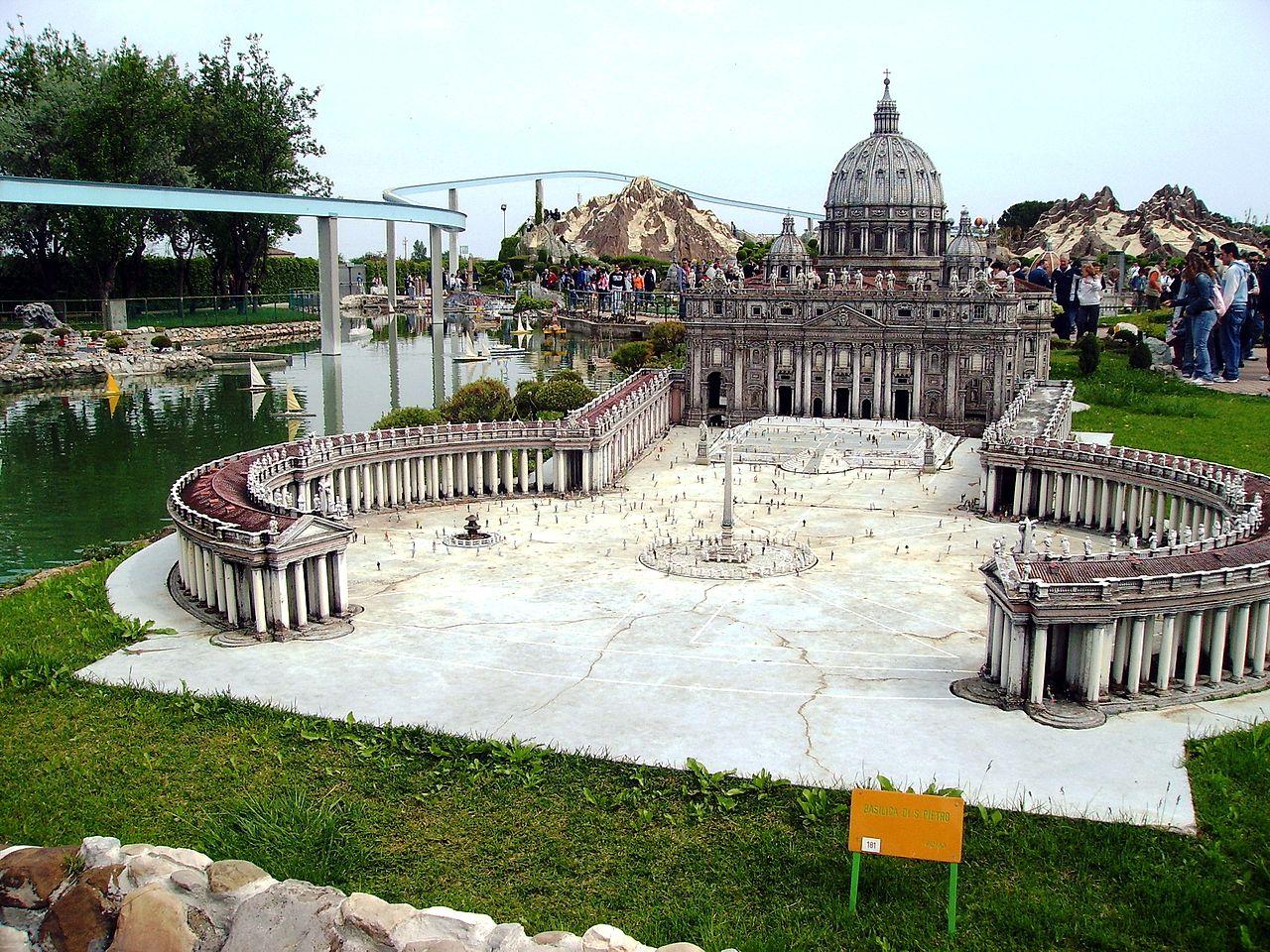 Италия в миниатюре, площадь Святого Петра