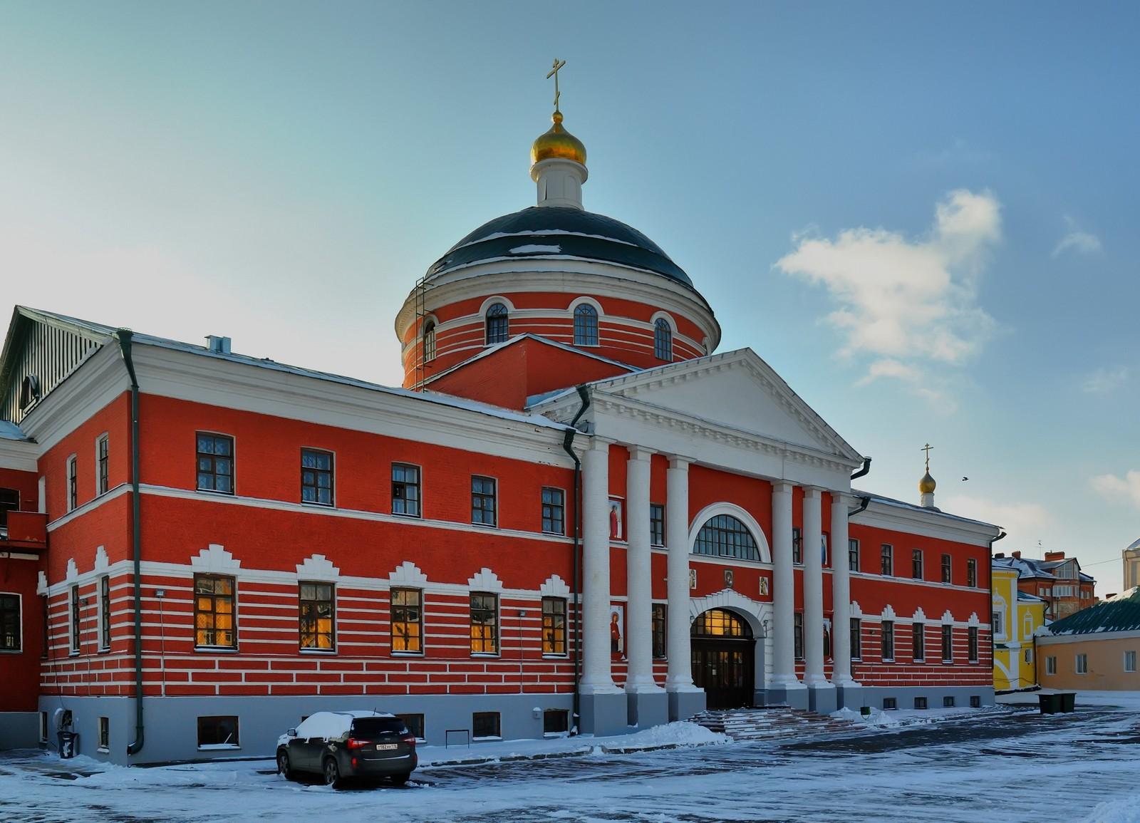 Казанский Богородицкий монастырь, фасад