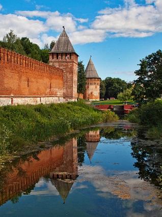 Крепость в городе Смоленске