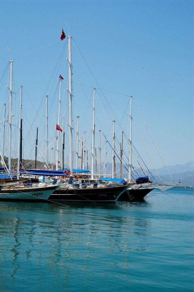 Порт в Олюденизе
