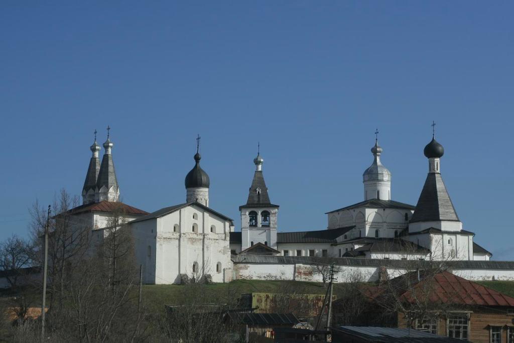 Ферапонтов монастырь - панорамный вид