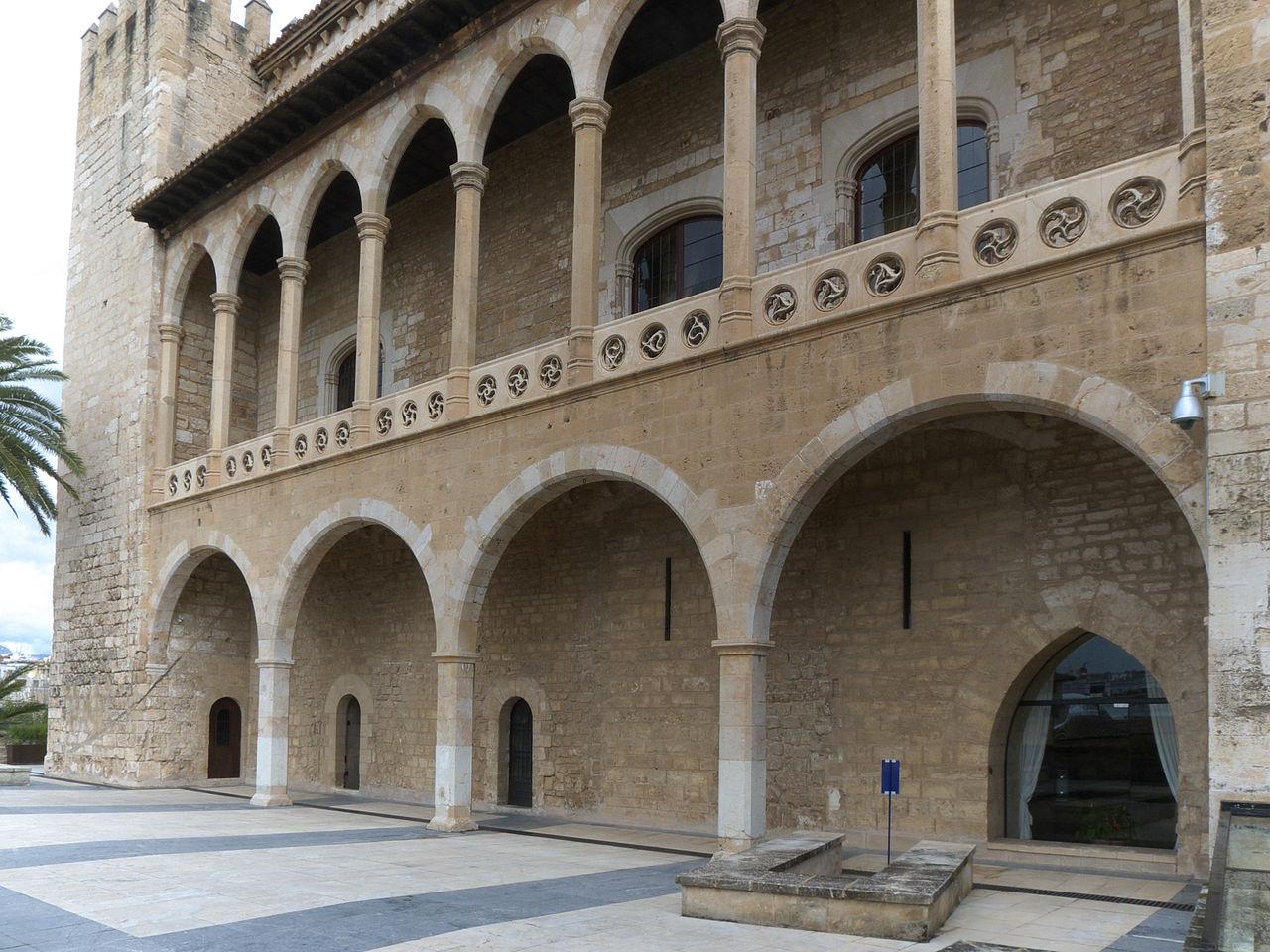Дворец Альмудайна, террасы