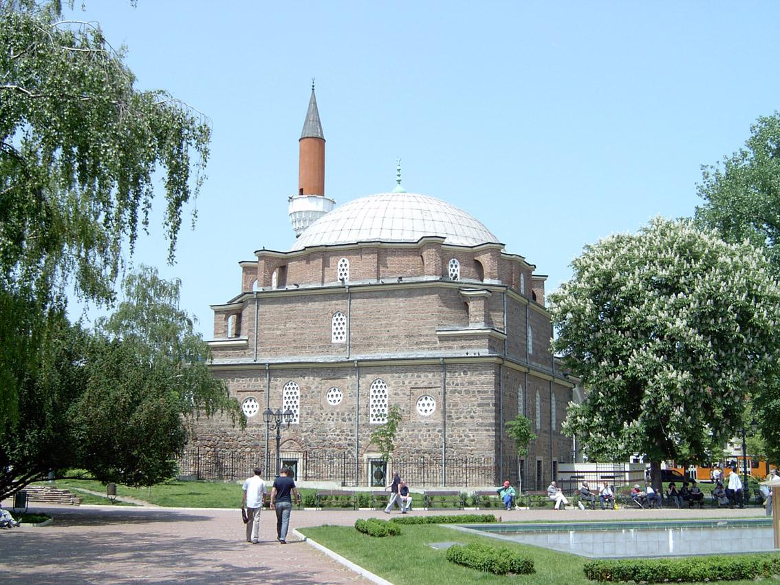 Мечеть Баня-Баши, парк