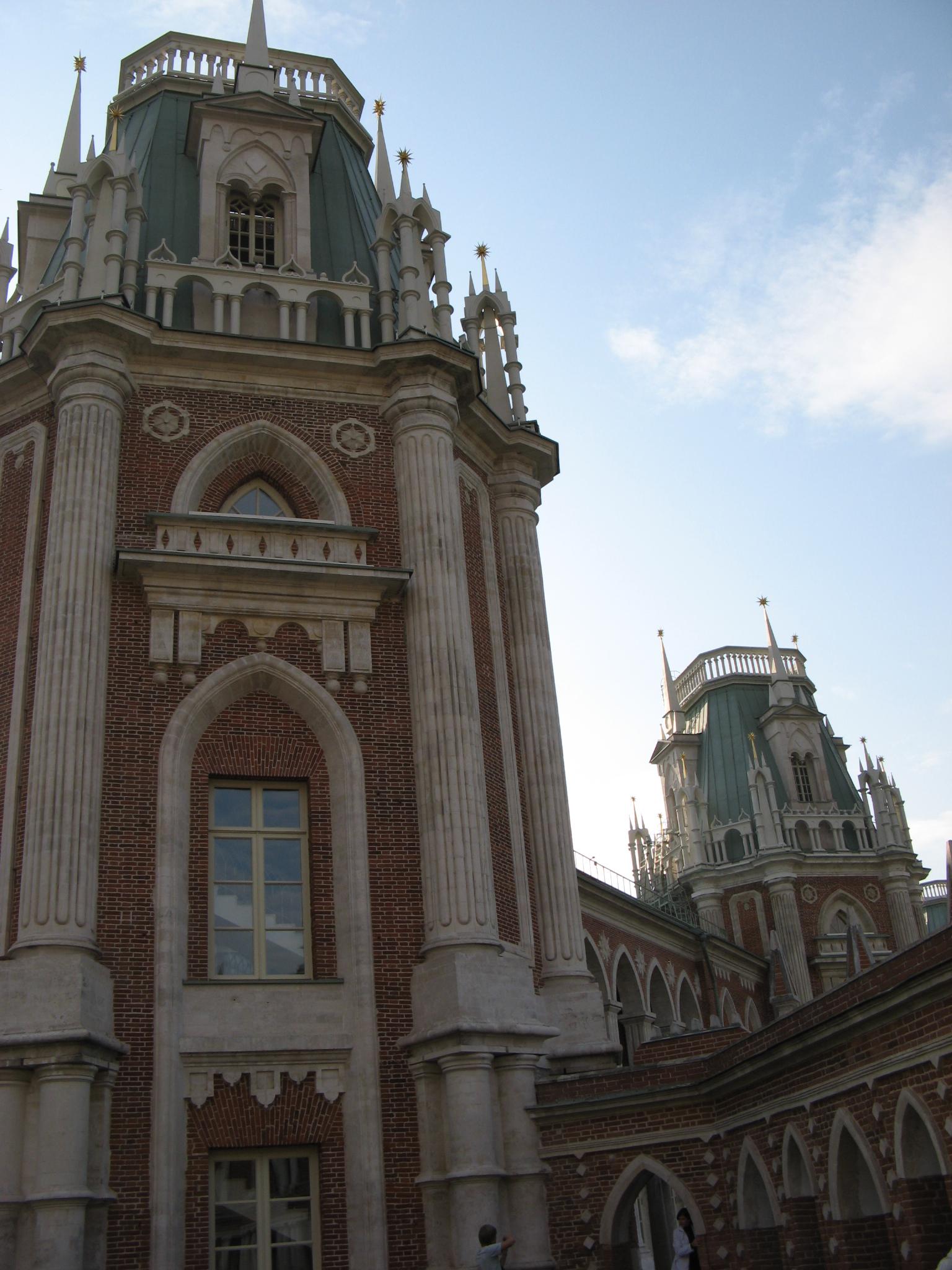 Одна из башен Большого дворца, Царицыно, Москва