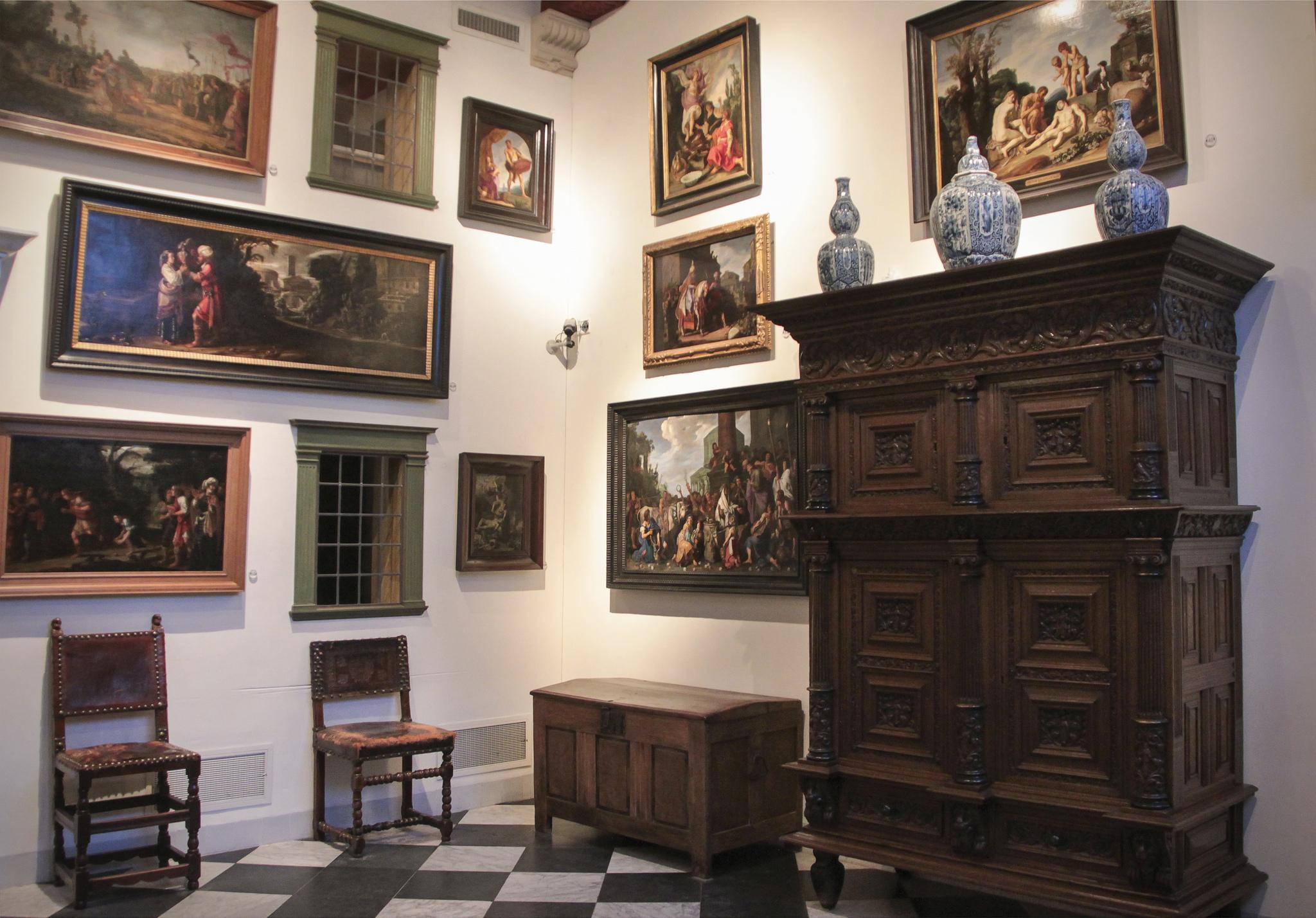 Музей Рембрандта, экспозиция