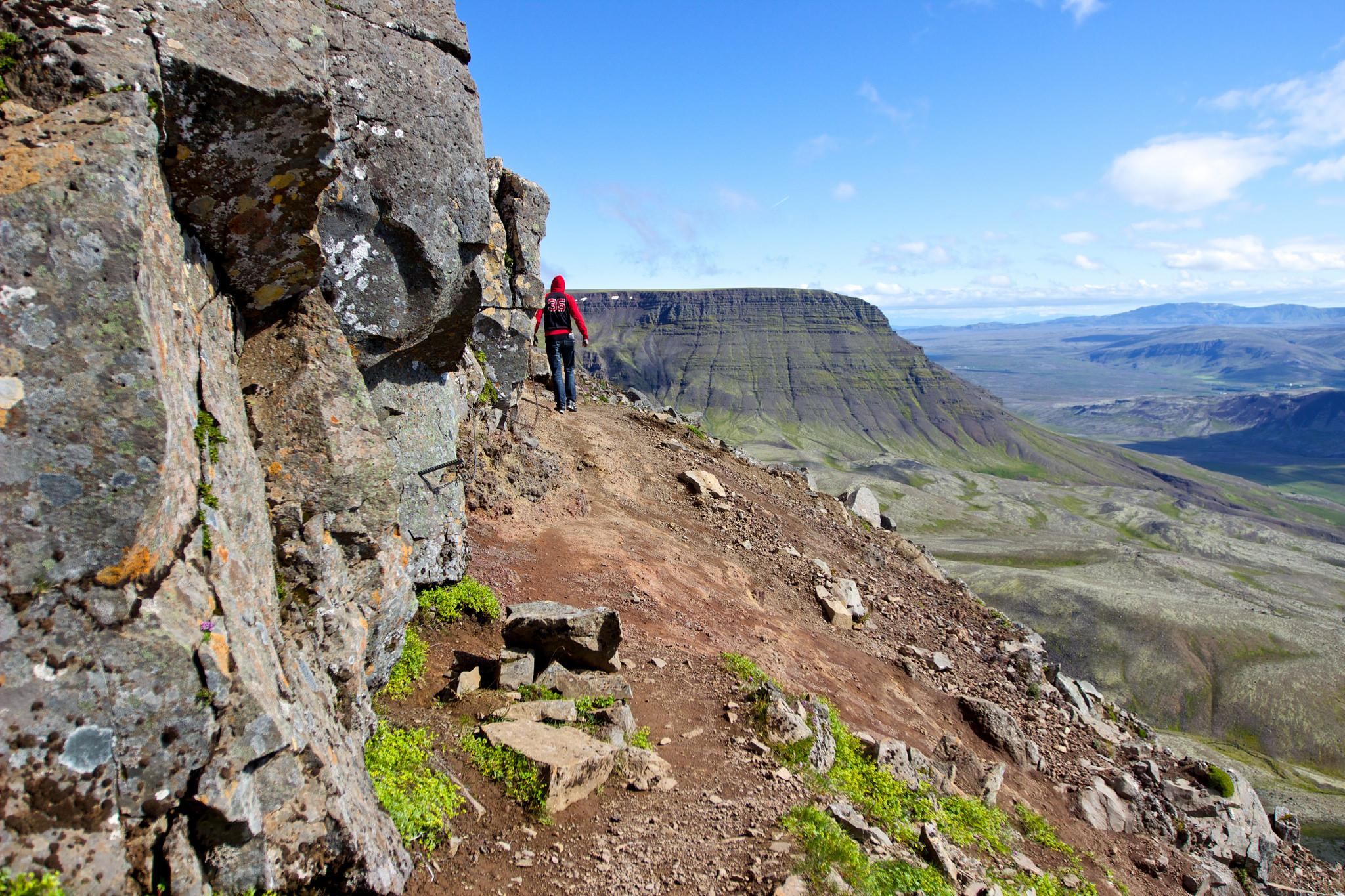 Подъем на гору Эсья, Исландия