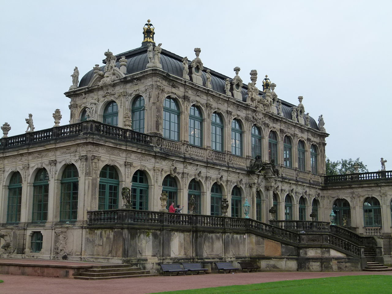 Цвингер, Музей фарфора в Дрездене