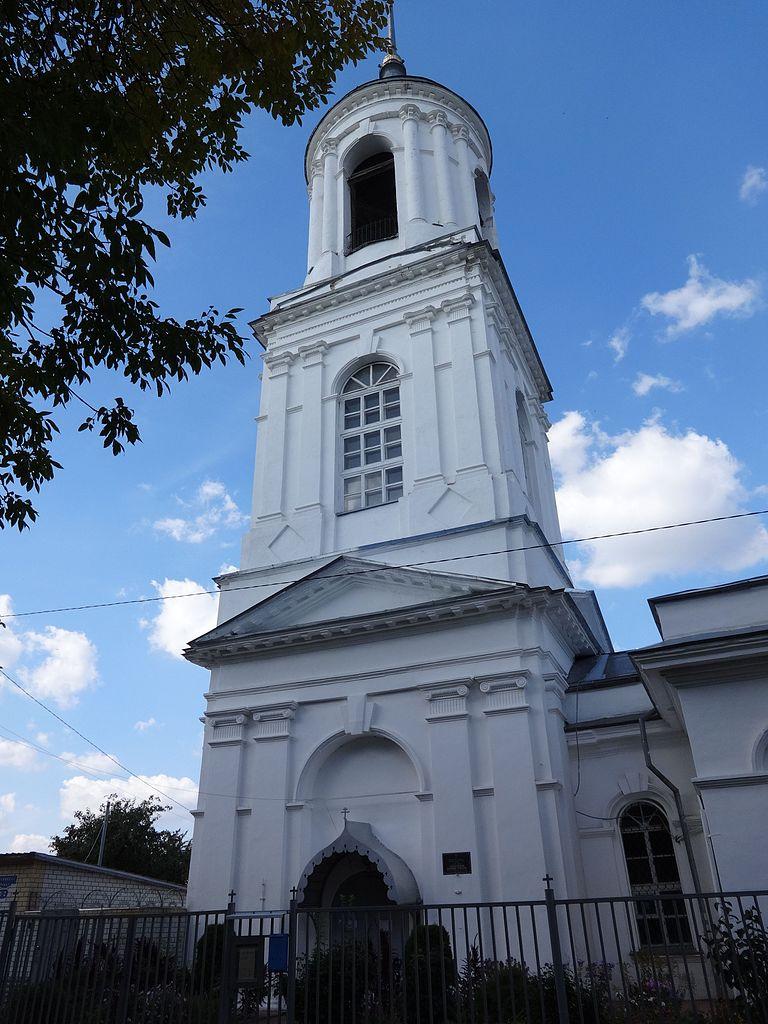 Церковь Смоленской иконы Божьей Матери, колокольня