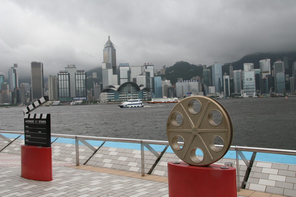 Аллея звезд в Гонконге, Китай