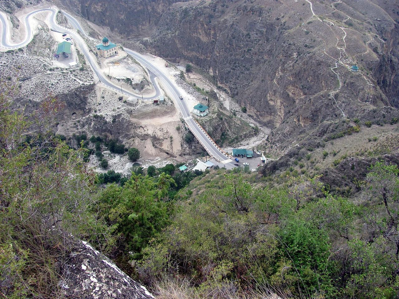 Гора Ахульго в Унцукульском районе