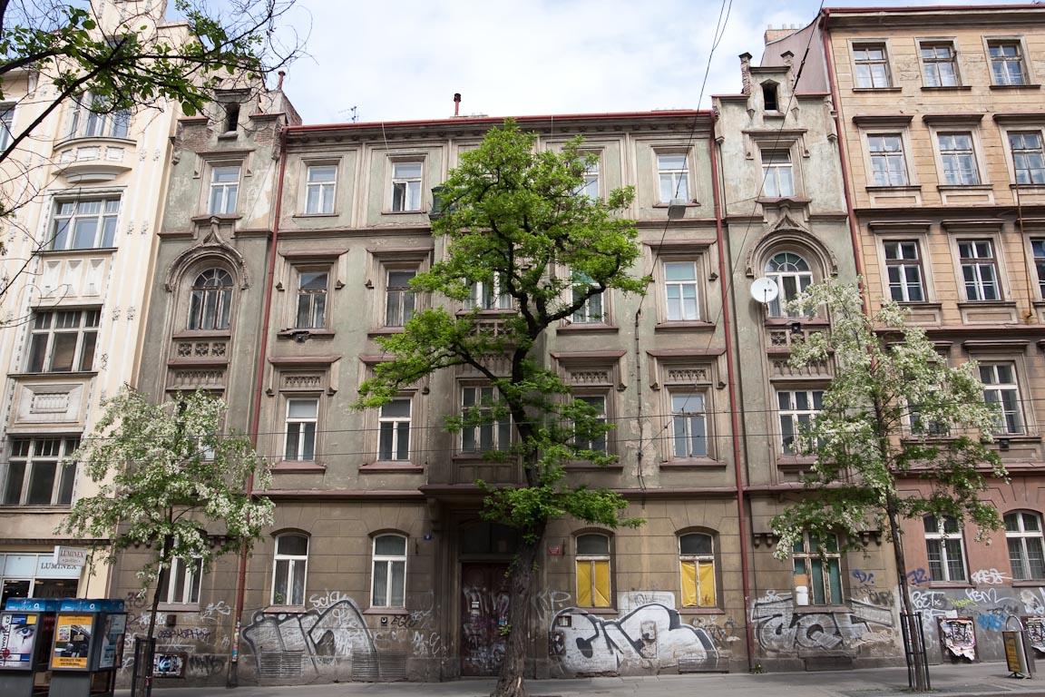 Здание в районе Нове Место, Прага