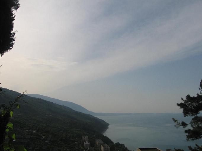 Панорама берегов, Абхазия.JPG