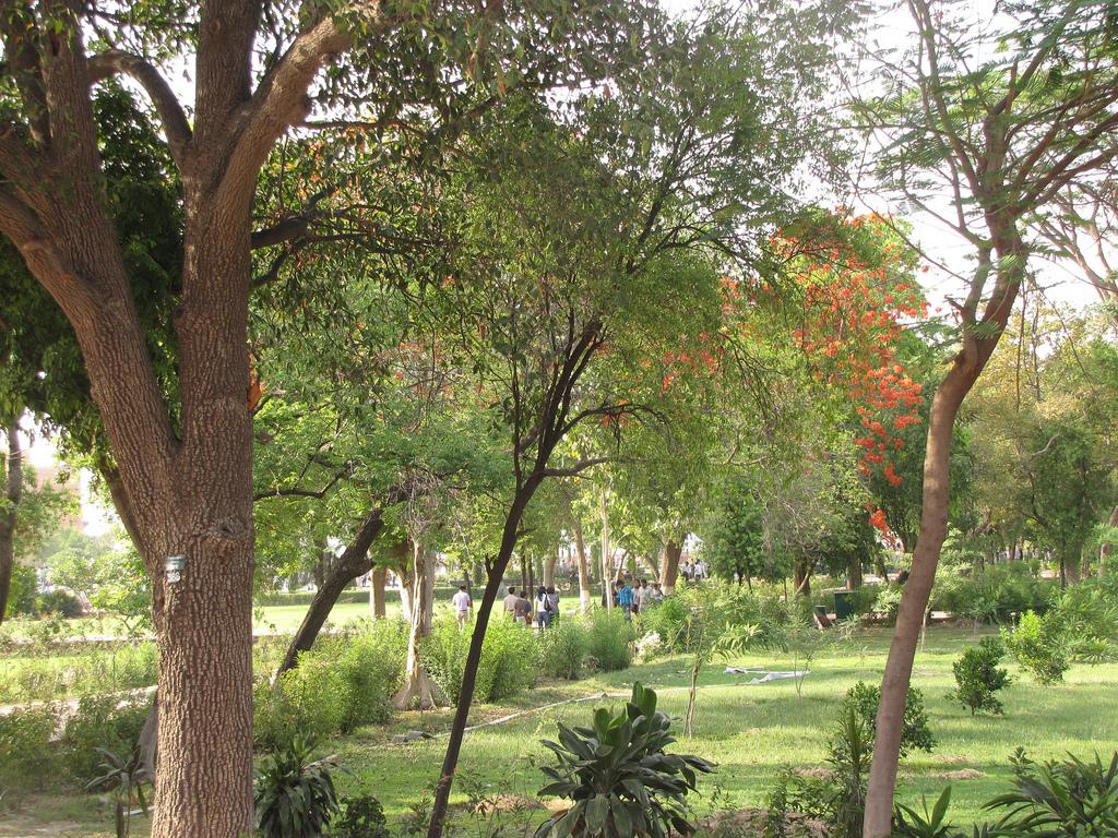 Парк рядом с Тадж-Махалом, Индия