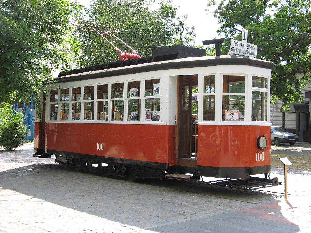 Трамвай-памятник
