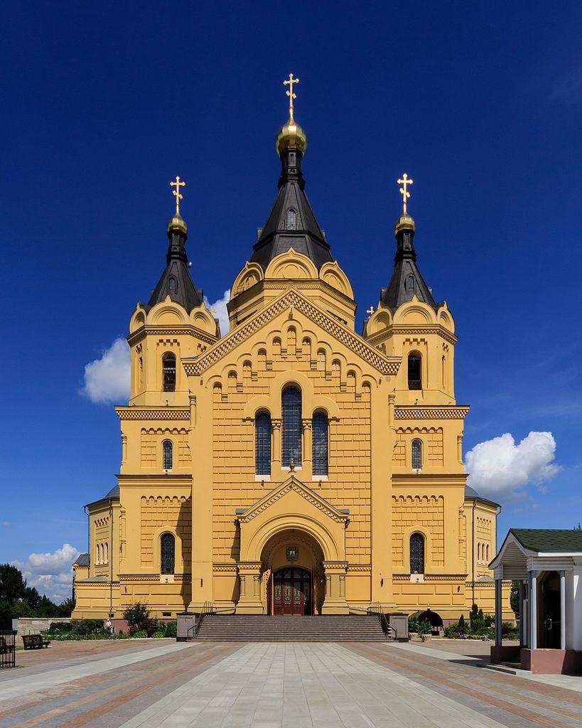 Александро-Невский Новоярмарочный собор в Нижнем Новгороде