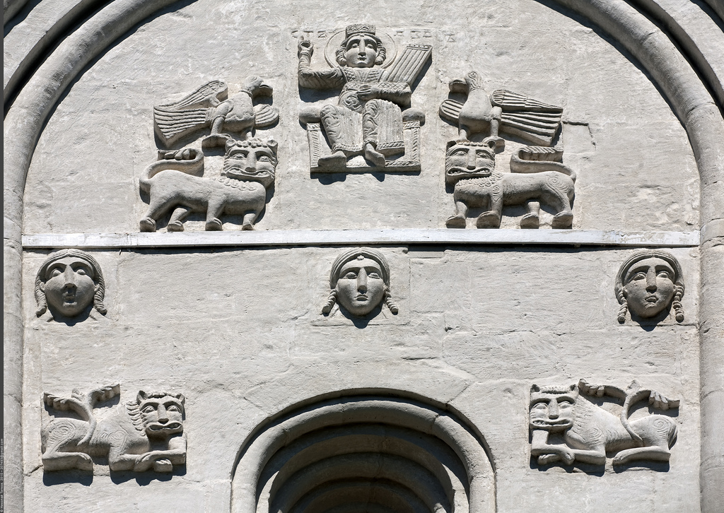 Барельеф, Храм Покрова на Нерли, Боголюбово