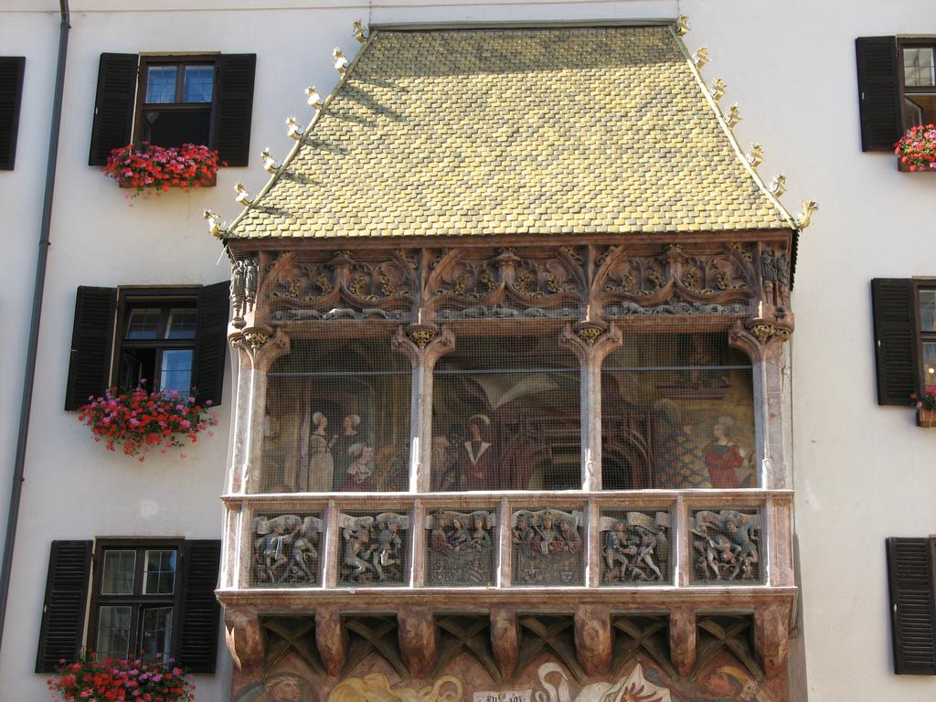 Золотая крыша, Инсбрук