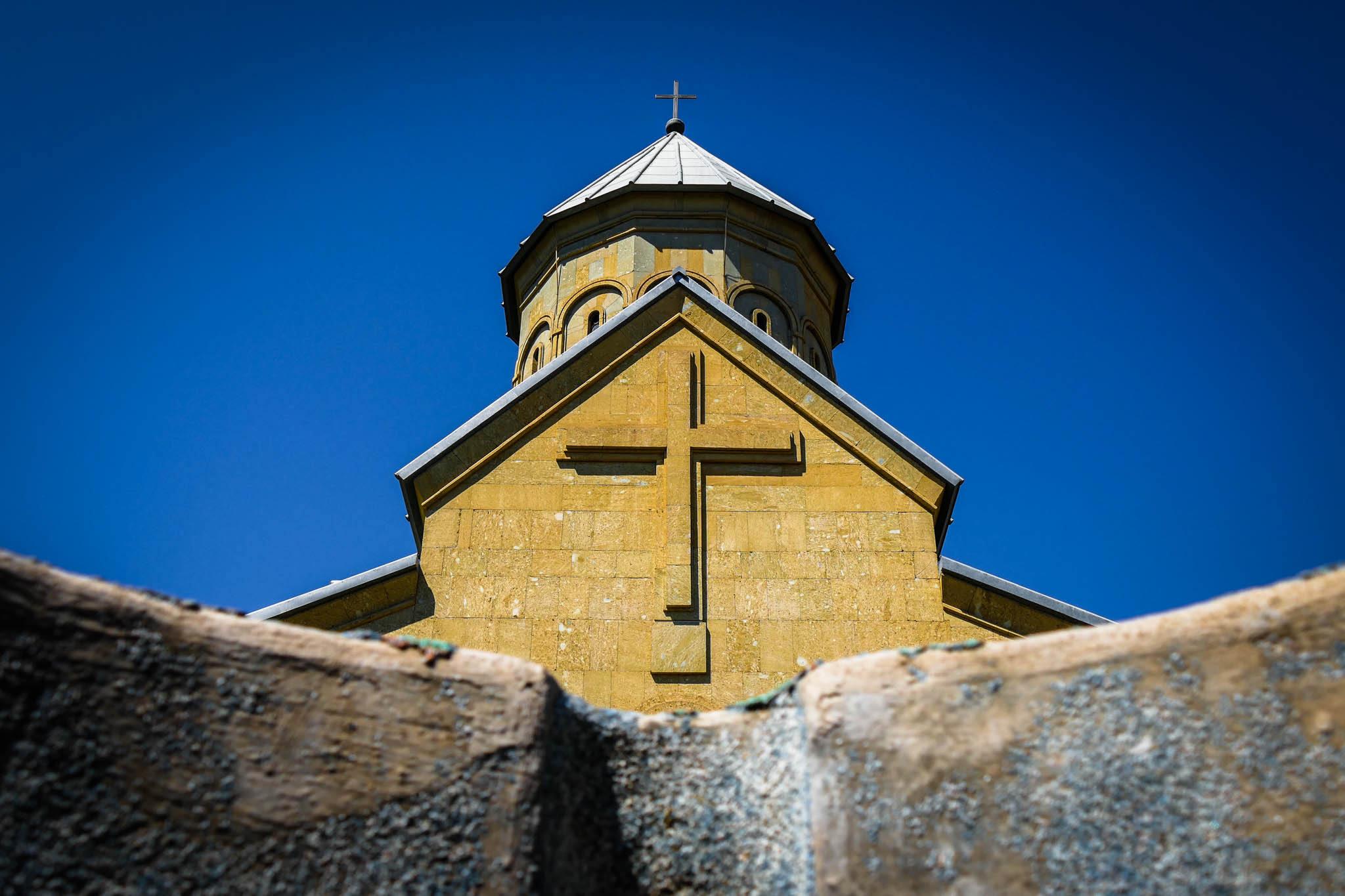 Купол храма Святого Георгия, Крепость Нарикала, Тбилиси