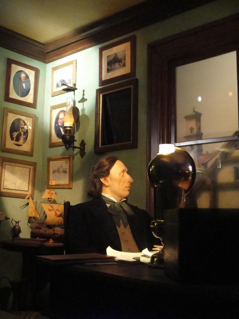 Музей Ганса Христиана Андерсена, кабинет писателя