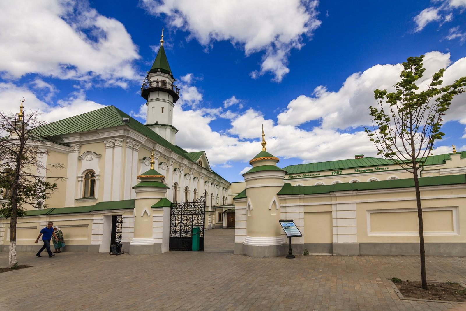 Татарская слобода в Казани, мечеть аль-Марджани