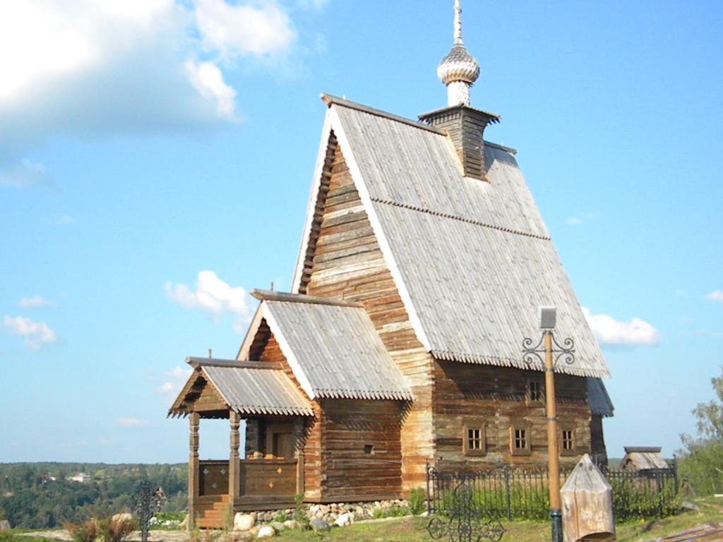 Церковь Воскресения (деревянная) из села Билюкова в Плесе