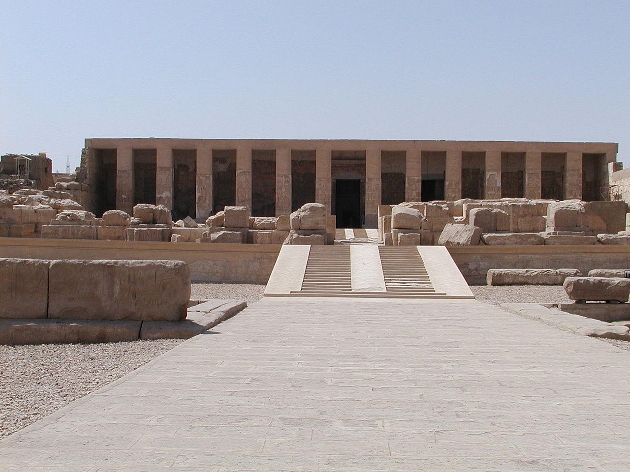 Абидосский храм, Египет