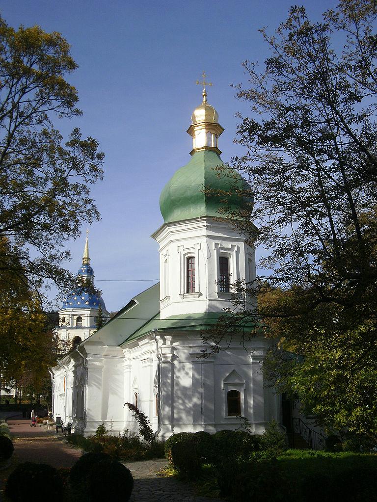 Выдубицкий монастырь, трапезная