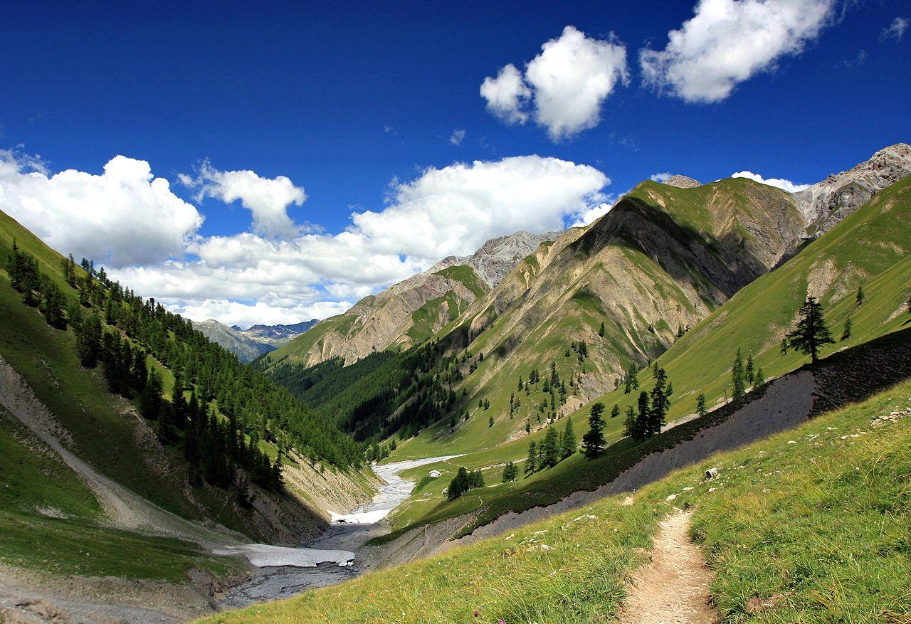 Швейцарские Альпы, природный парк