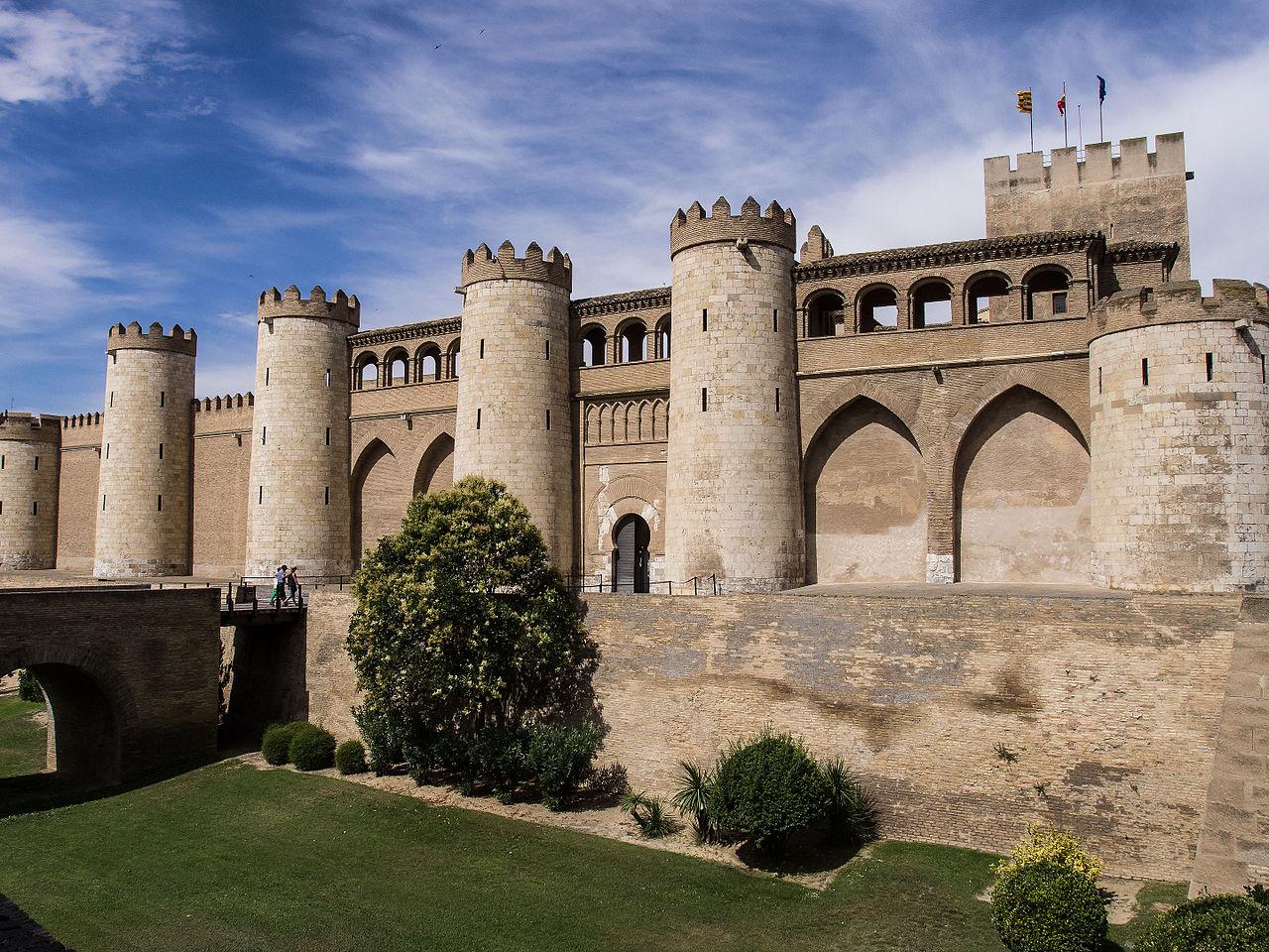 Альхаферия, Сарагоса