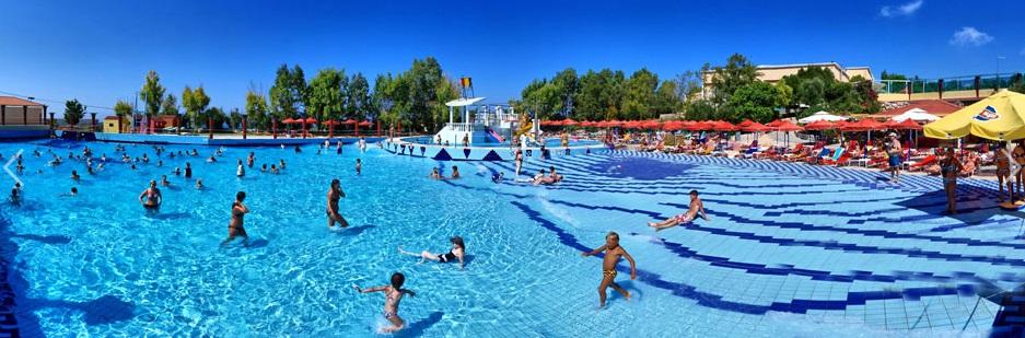 Бассейн, аквапарк Анополиса Watercity, Крит