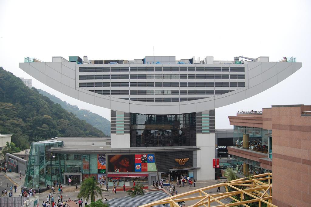 Музей мадам Тюссо в торговом центре Peak Tower, Гонконг