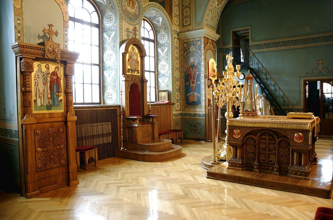 Свято-Троицкий Ионинский монастырь, центральный алтарь