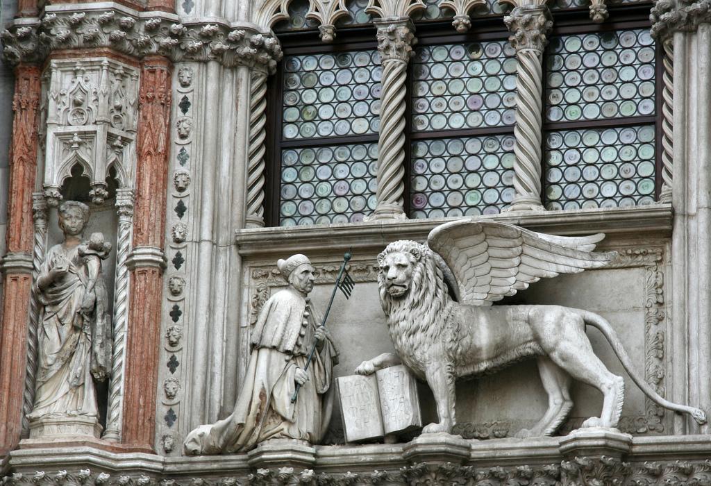 Собор Сан-Марко, фрагмент фасада