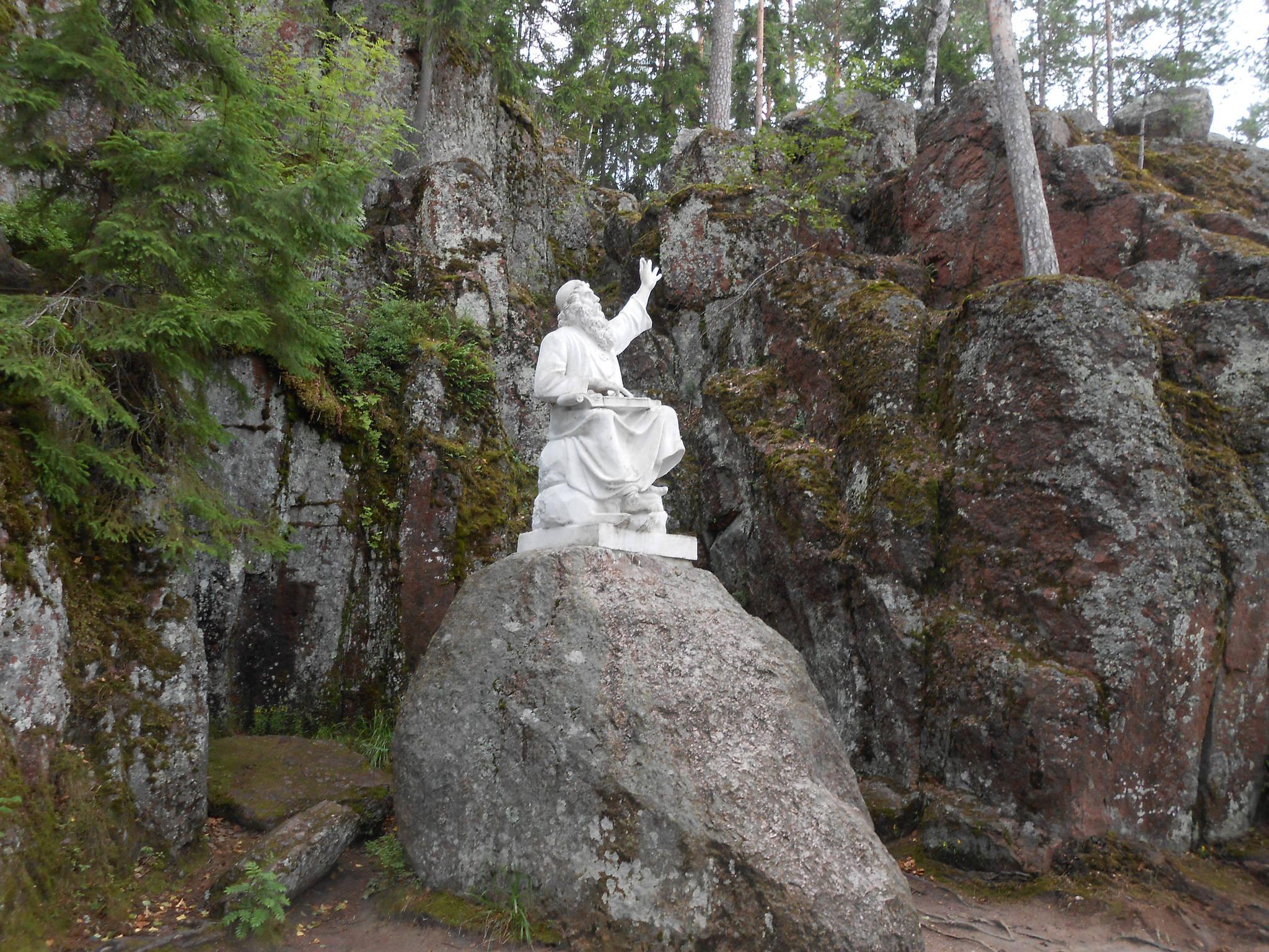 Статуя Вяйнемёйнена, Парк Монрепо, Выборг
